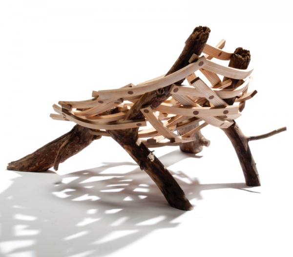 eyrie cahir g 2 600x528 Inventive Nature Inspired Design: Eyrie Chair by Floris Wubben
