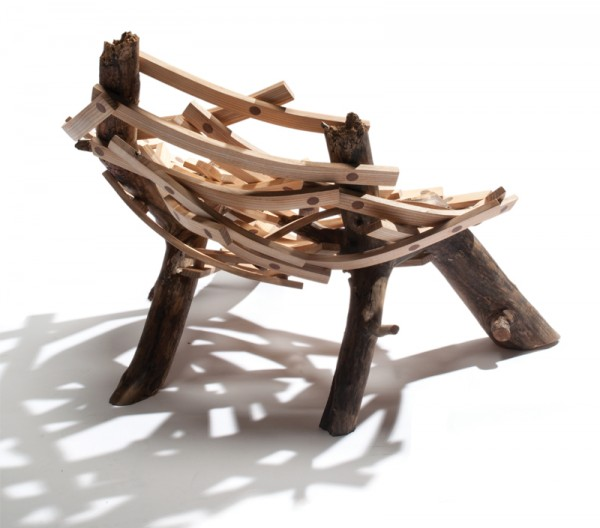 eyrie cahir g 3 600x528 Inventive Nature Inspired Design: Eyrie Chair by Floris Wubben