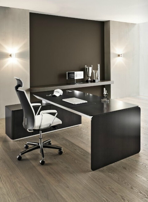 Modern Office Furniture System Defined By Elegance And Refinement