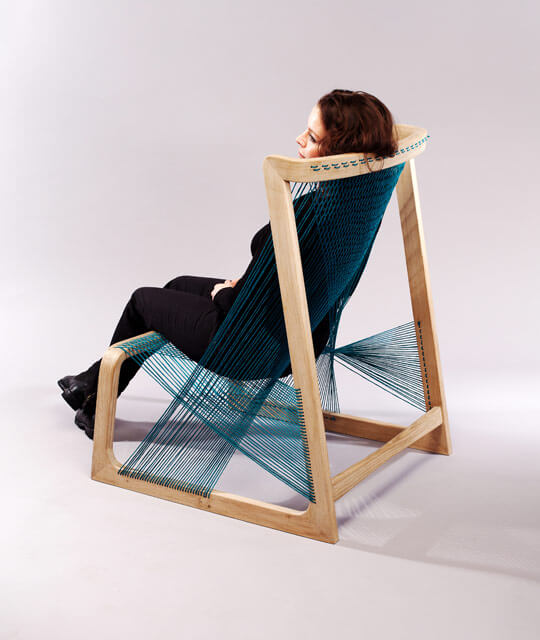 silk 4 Alvi Design Sustains Eco Friendly Living: Alvisilkchair