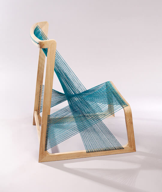 eco-friendly-turquoise-chair-like-a-sculpture