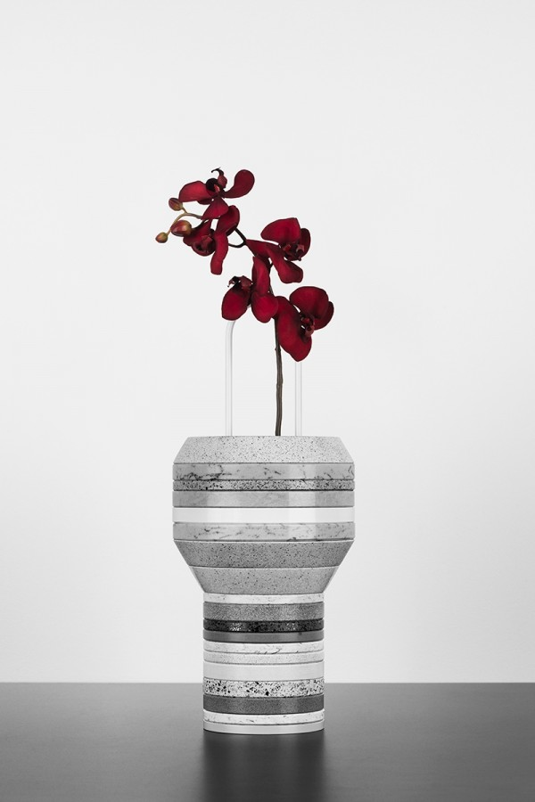 slab2 600x900 Sculptural Vase Designs For Modern Spaces