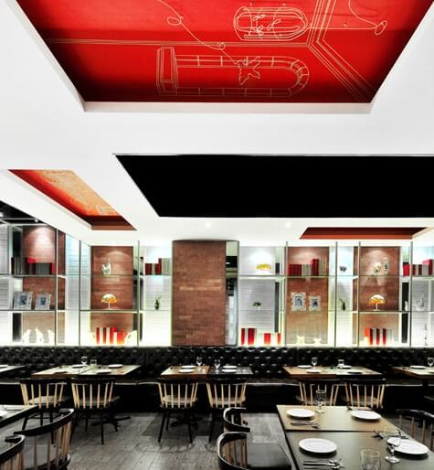 ttr The Loft Restaurant by Joey Ho Design
