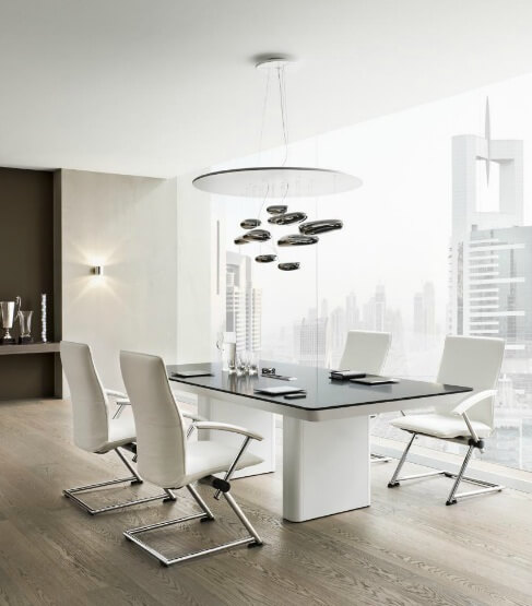 yuwe1 Modern Office Furniture System Defined by Elegance and Refinement