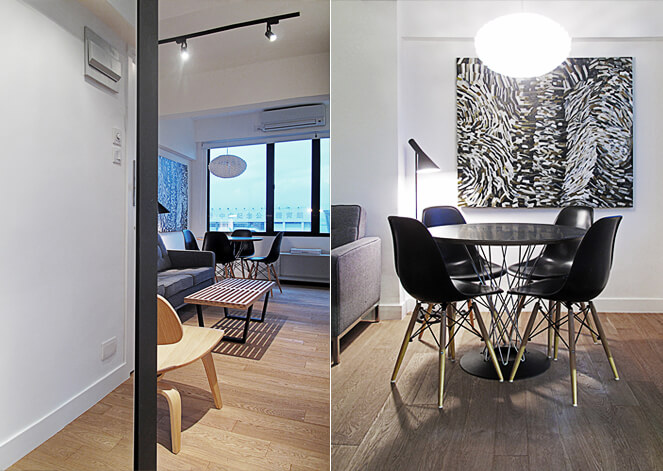 Small 32 square meter apartment design transformed by for Apartment design hk