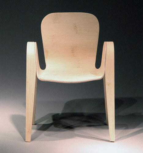 Pico Chair with rounded corners 04 Creative Rounded Edges Chair by Po Shun Leong
