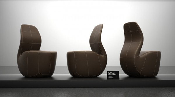 Pipe Inspired Chair by Yaroslav Rassadin 02 600x333 Pipe Chair Concept by Yaroslav Rassadin