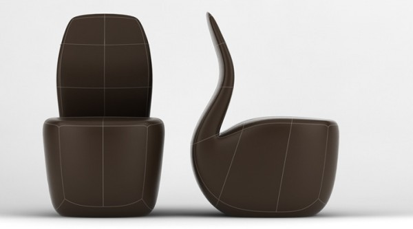 Pipe Inspired Chair by Yaroslav Rassadin 03 600x333 Pipe Chair Concept by Yaroslav Rassadin