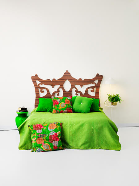 SIR ELTON FORREST green 300dpi New Amazing Bed Headboards by Myrica Design