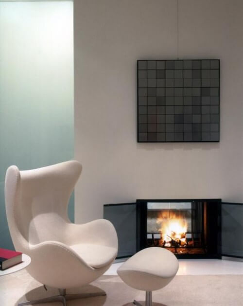 The Egg Chair by Arne Jacobsen and Fritz Hansen 01 10 Modern Interiors Featuring The Iconic Egg Chair