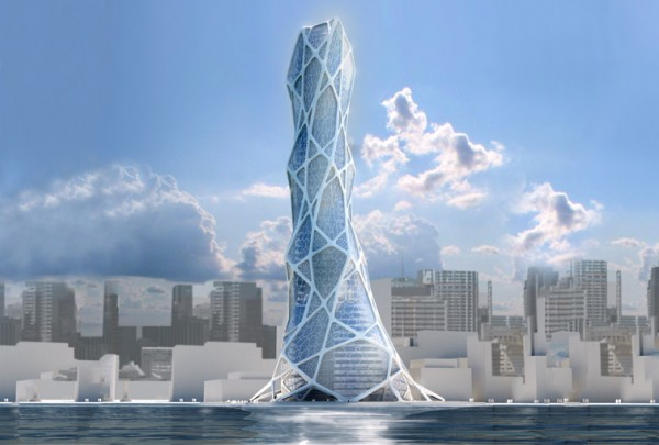 Bionic design 600x405  BIONIC TOWER The Architecture of the Future