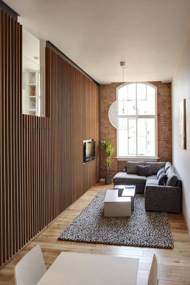 Mezzanine Apartment Transformed Into A Two Bedroom One In London Interior Design Design News