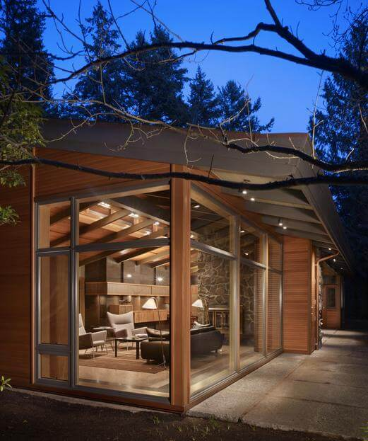 Contemporar house renovation by Finne Architects 01 Lake Forest Park Renovation by FINNE Architects