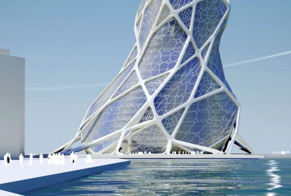 Future Architecture 600x405  BIONIC TOWER The Architecture of the Future