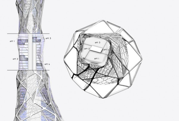 Future Architectures 600x405  BIONIC TOWER The Architecture of the Future