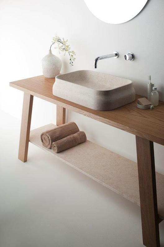 Latis bathroom products 06 Omvivos Luxurious and Sculptural New Bathroom Collection
