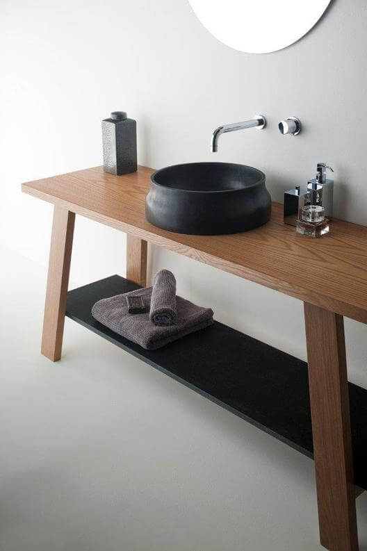 Latis bathroom products 07 Omvivos Luxurious and Sculptural New Bathroom Collection