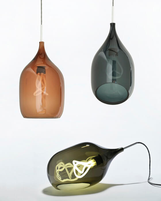 Limited edition lamps by Decode 01 Minimalism and Originality: Vessel Series from Decode