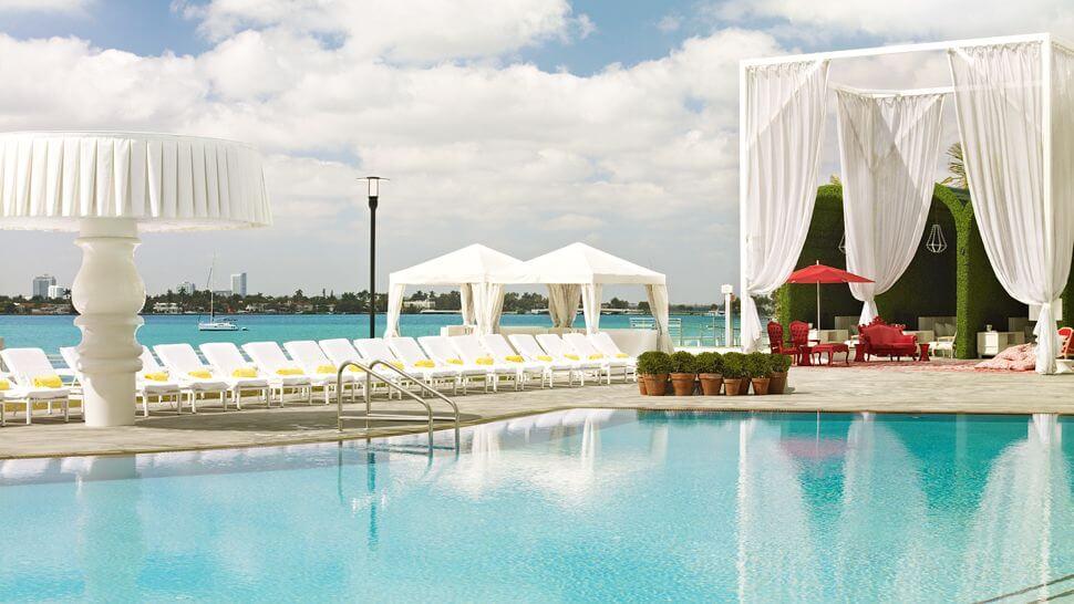 Unique Experiences At Luxurious Mondrian South Beach In Miami