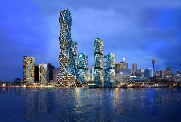 bionic tower barangaroo 600x405  BIONIC TOWER The Architecture of the Future