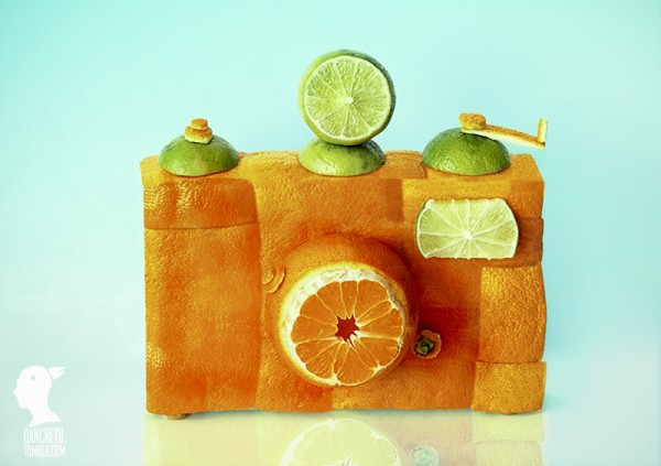 food sculptures1 600x423 Inspiration Design with Food Sculptures