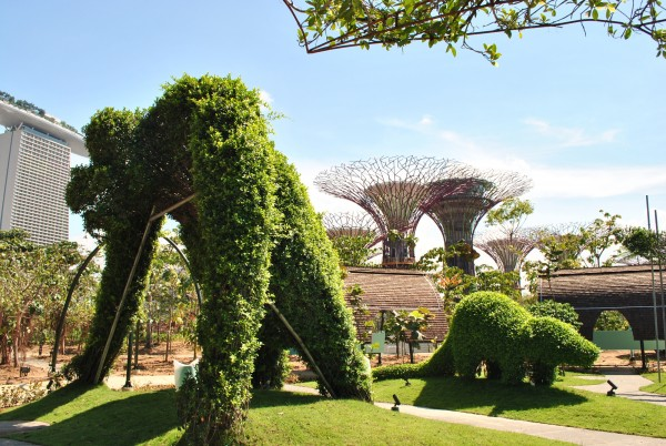 garden by the bay east incredible futuristic gardensthe bay in singapore interior