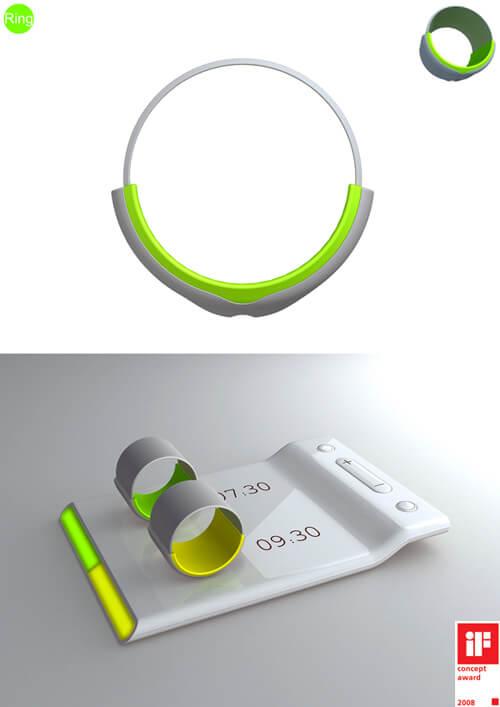ring clock gadget