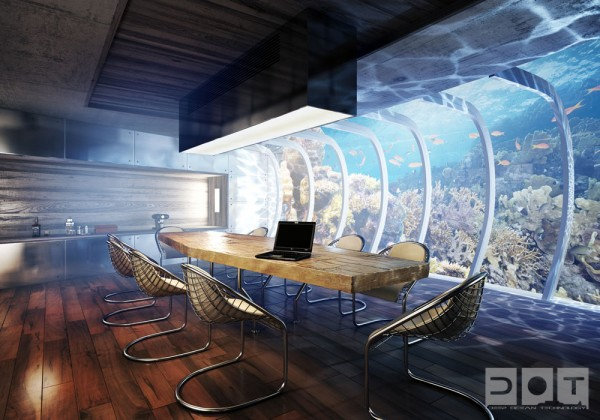 view underwater hotel 600x420 The Water Discus Underwater Hotel