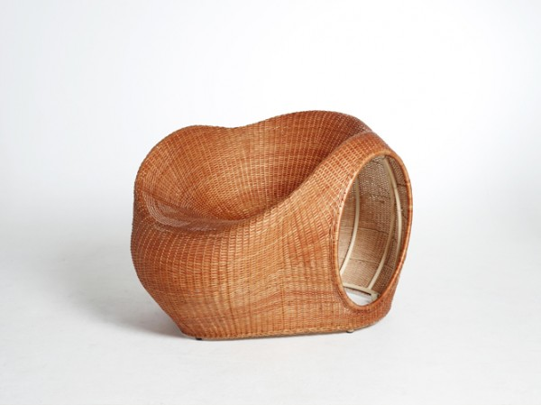 Amalia Chair by Eggpicnic 03 600x449 Innovative Handmade Mimbre Chair by Eggpicnic