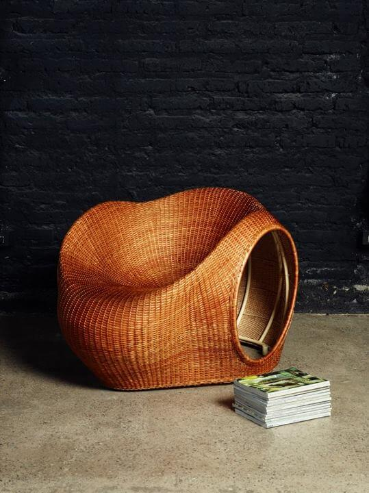 Amalia Chair by Eggpicnic 07 Innovative Handmade Mimbre Chair by Eggpicnic