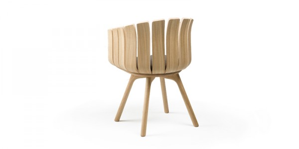 Beautiful Inspired nature chair by Leif Designpark 02 600x300 Closer to Nature: Charming Flower Cup Chair for Modern Spaces