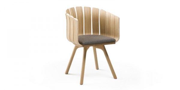 Beautiful Inspired nature chair by Leif Designpark 03 600x300 Closer to Nature: Charming Flower Cup Chair for Modern Spaces