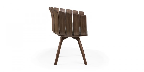 Beautiful Inspired nature chair by Leif Designpark 06 600x300 Closer to Nature: Charming Flower Cup Chair for Modern Spaces