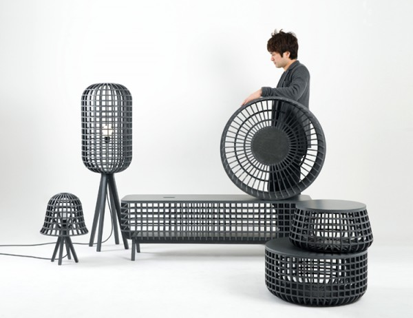 Dami Furniture by Seung Yong Song 06 600x462 Modern Objects with Traditional Beauty from Seung Yong Song