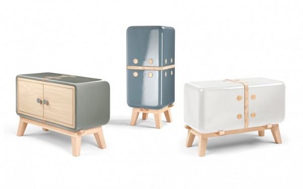 Keramos unique furniture collection by CoProdotto 02 600x374 Keramos Ceramic Cabinets by CoProdotto
