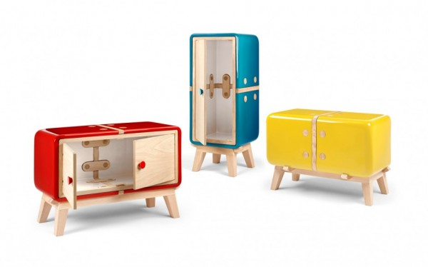 Keramos unique furniture collection by CoProdotto 03 600x374 Keramos Ceramic Cabinets by CoProdotto