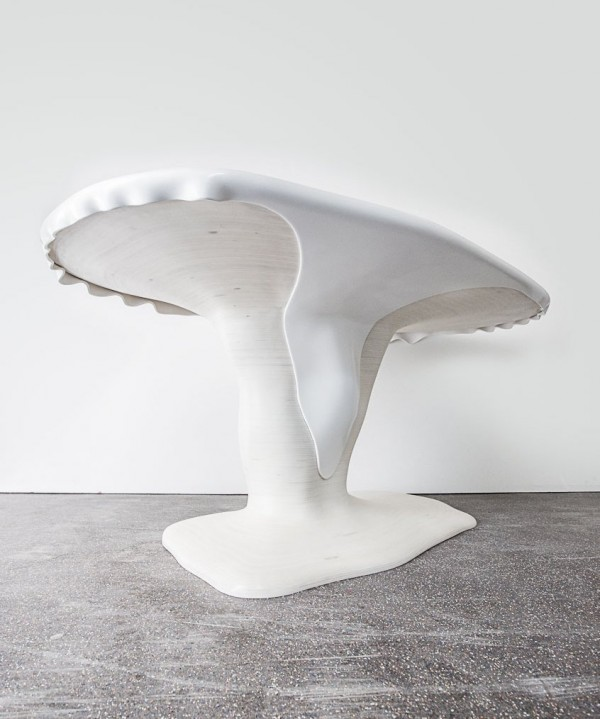 Melted Snow Table by AAstudio 03 600x719 Creative Design Characterizing Melted Snow Table by AAStudio