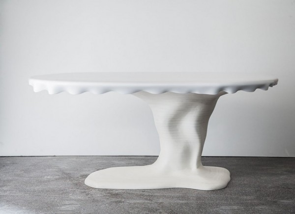 Melted Snow Table by AAstudio 04 600x436 Creative Design Characterizing Melted Snow Table by AAStudio