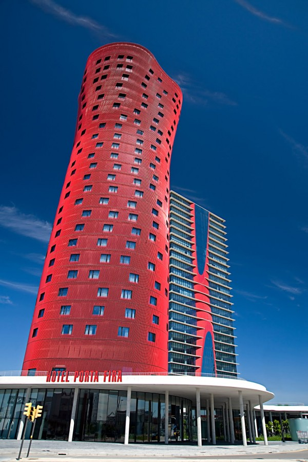 Porta Fira Hotel Barcelona 02 600x899 Best Skyscraper in the World: Porta Fira Hotel, Barcelona