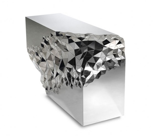 Stellar Console Table by Jake Phipps 01 600x535 Spectacular Console Table Revealing a Sparkling Identity
