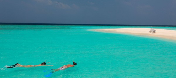 Stunning resorts in Maldives 02 600x265 Ultimate Privacy and Seclusion at Soneva Fushi Resort, Maldives