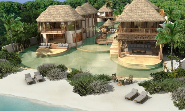 Stunning resorts in Maldives 07 600x361 Ultimate Privacy and Seclusion at Soneva Fushi Resort, Maldives