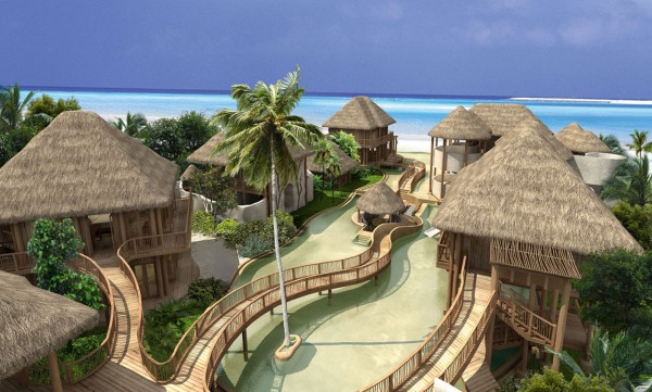 Stunning resorts in Maldives 08 600x361 Ultimate Privacy and Seclusion at Soneva Fushi Resort, Maldives