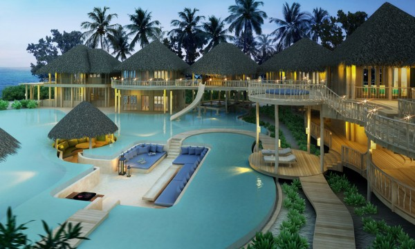 Stunning resorts in Maldives 10 600x361 Ultimate Privacy and Seclusion at Soneva Fushi Resort, Maldives