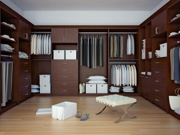contemporary beautiful walk in closets 600x450 30 Fabulous Walk In Closets to Inspire You