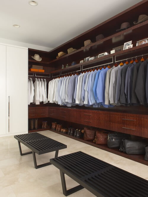 contemporary walk in closets 30 Fabulous Walk In Closets to Inspire You