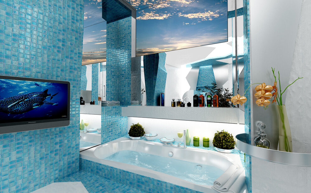 creative bathroom project by gemelli design interior