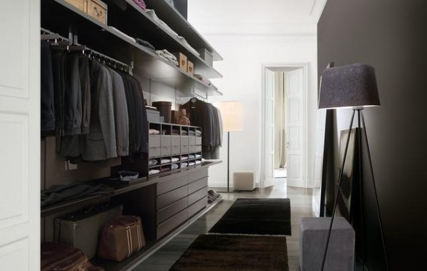 open concept design walk in closets 600x381 30 Fabulous Walk In Closets to Inspire You