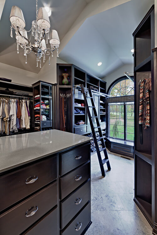 traditional elegant walk in closets 30 Fabulous Walk In Closets to Inspire You