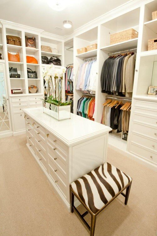 traditional walk in closet 30 Fabulous Walk In Closets to Inspire You